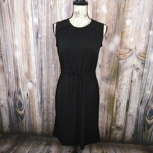 Joe Fresh Black Sleeveless Tie Dress XS